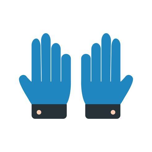 Handschoenen Icon Vector Illustration