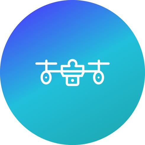 Icono de vector drone