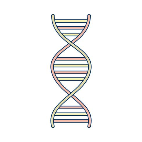 Vector DNA ícone