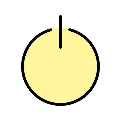 Afmelden pictogram vectorillustratie