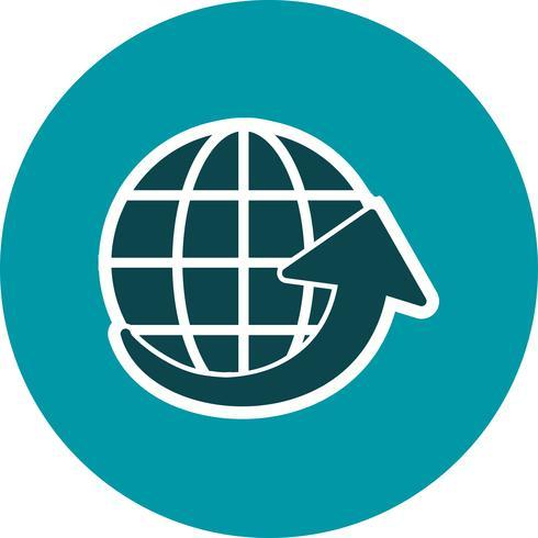 Vector Around the World-pictogram
