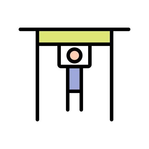 Icono de barra de mano ilustración vectorial