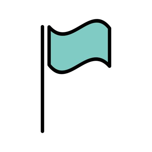Vector vlagpictogram