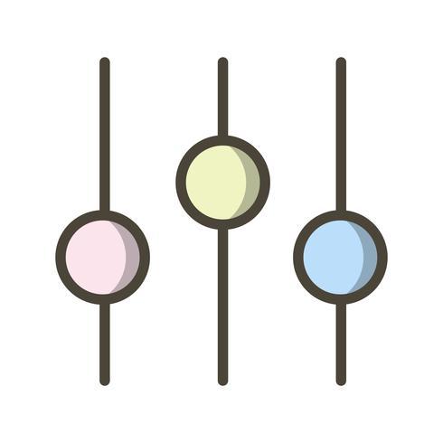 Definir ícone ilustração vetorial