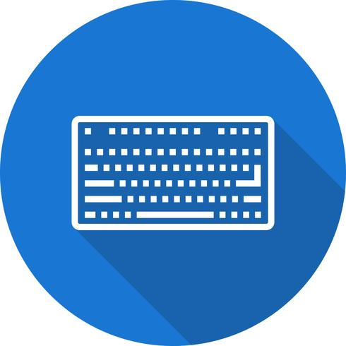 Vector toetsenbordpictogram