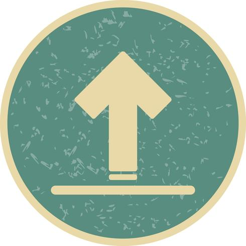 Vektor-Upload-Symbol