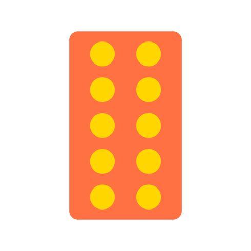 Icône de tablettes de vecteur