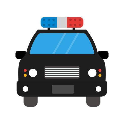Icone De Carro De Policia De Vetor Download Vetores Gratis