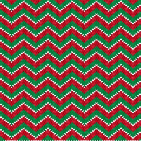 tricoter des rayures zigzag