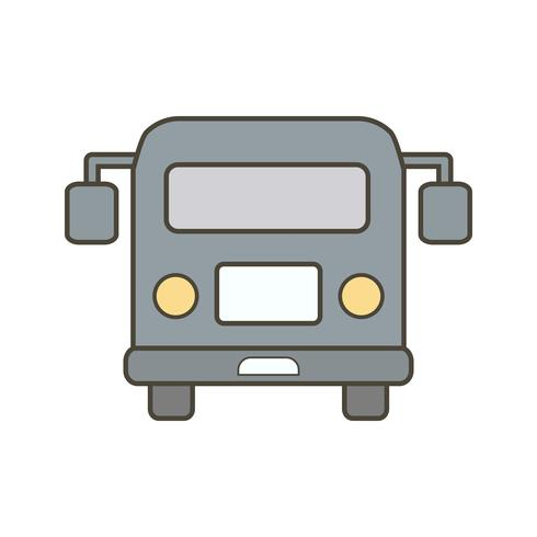 Vector luchthaven bus pictogram