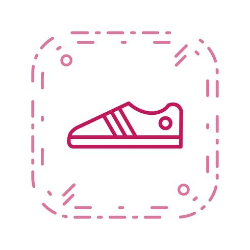 Shoes Icon Vector Illustration