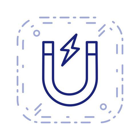 Vector magneet pictogram