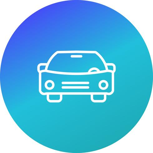 Vector icono de coche