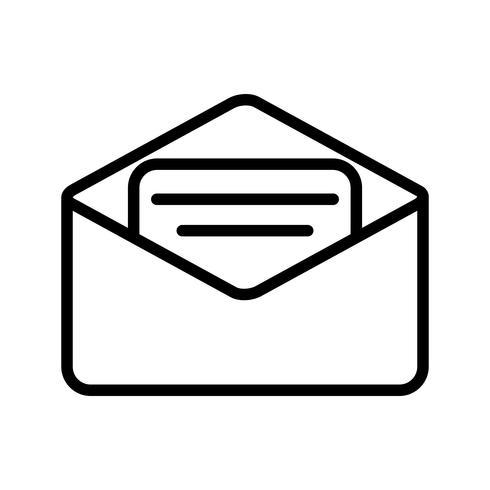 Icona Email vettoriale