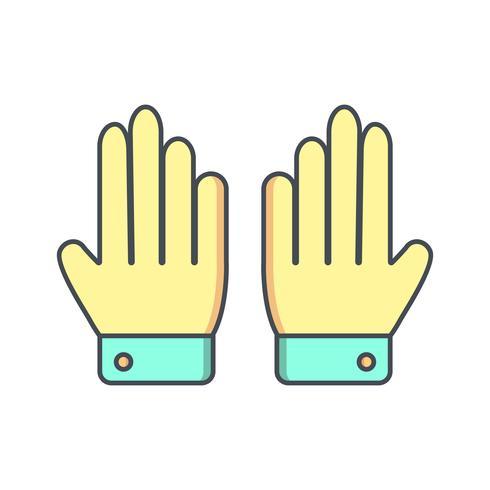 Gloves Icon Vector Illustration