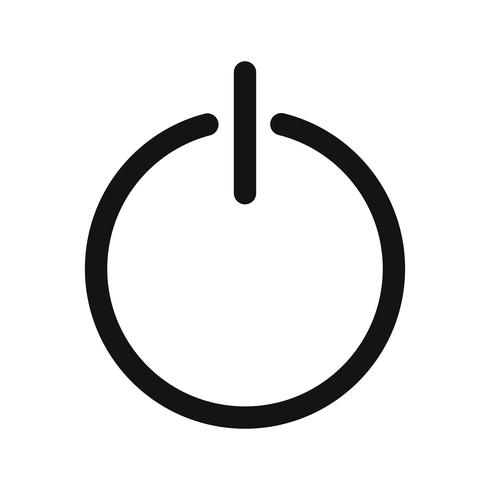 Logout Icon Vector Illustration