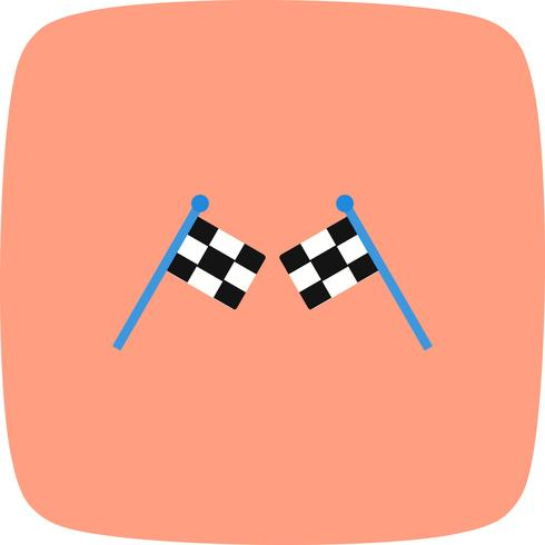 Racing Icon Vector Illustration