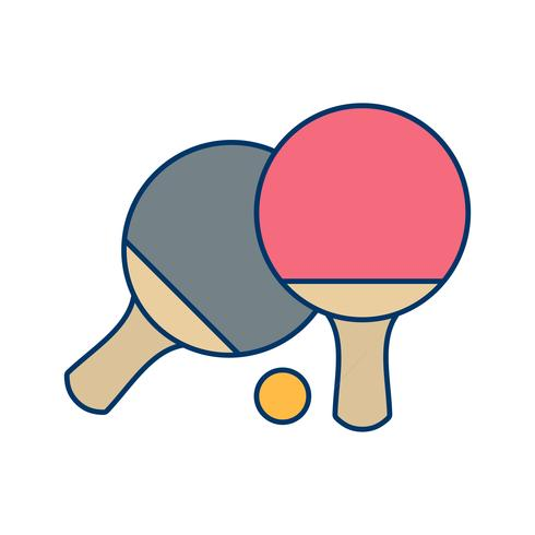 Ping Pong Icon Vector Illustration