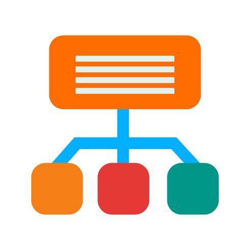 icono de sitemap vector