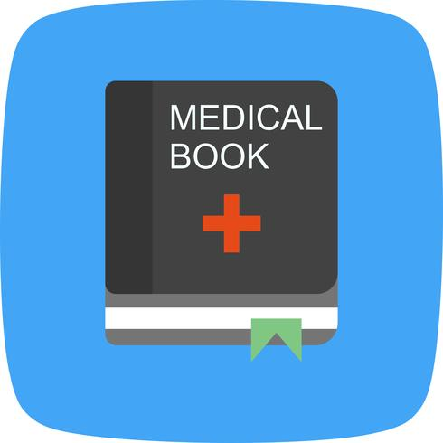 Vector Medical Book Icon