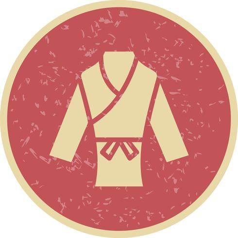 Icono de Karate Vector Illustration