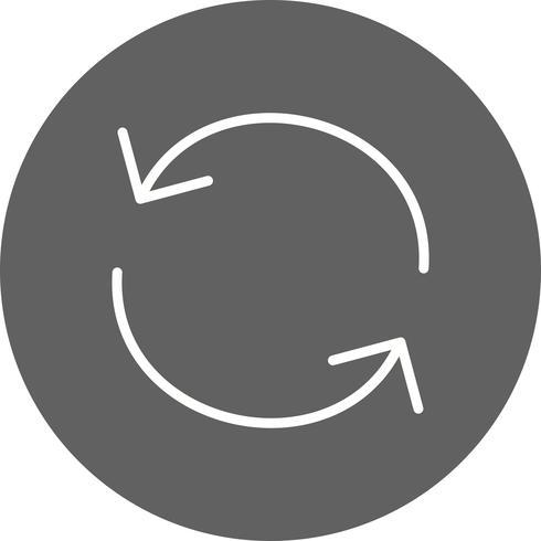 Herladen pictogram vectorillustratie