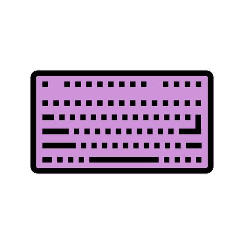 Icona della tastiera vettoriale
