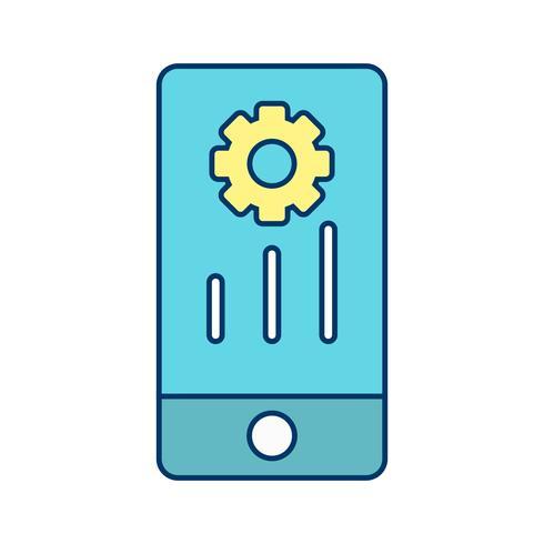Vector Mobile Marketing ícone