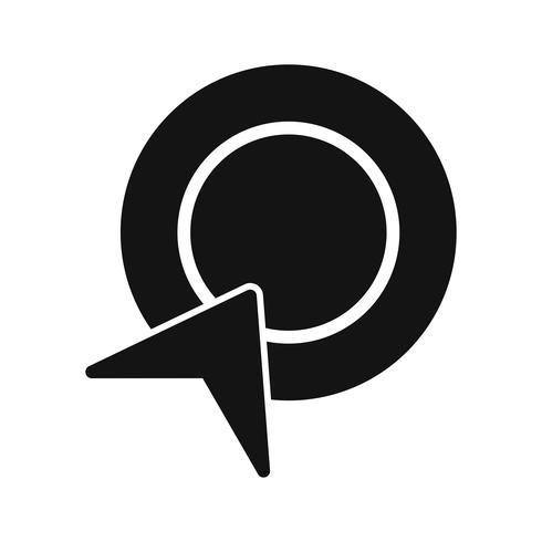 Icona Pay-per-clic vettoriale