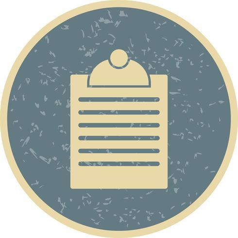 Vector Clipboard Icon