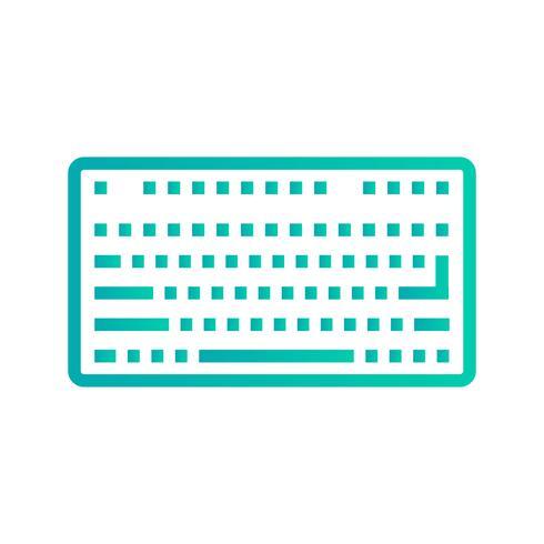 Vector Keyboard Icon