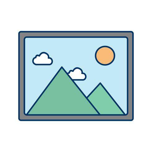 Picture Icon Vector Illustration