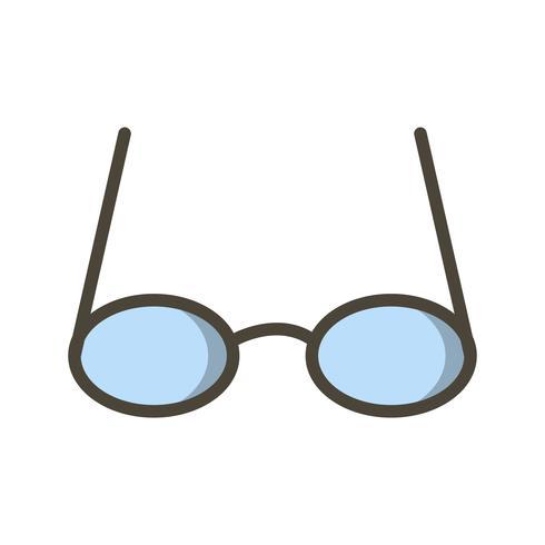 Vektor-Gläser-Symbol