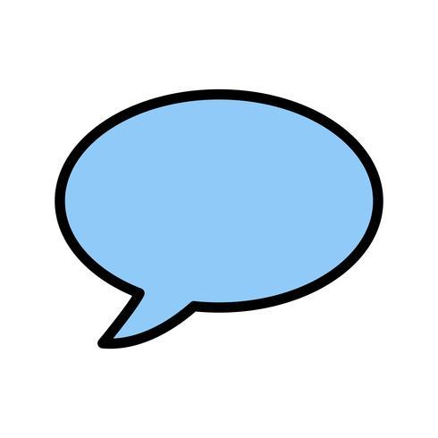 Chat Icon Vector Illustration