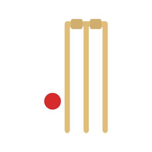 cricket ikon vektor illustration
