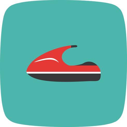Vector Jet Ski ícone