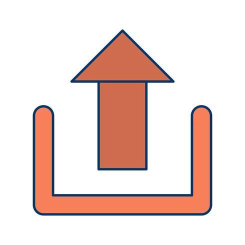 Upload Icon Vector Illustration