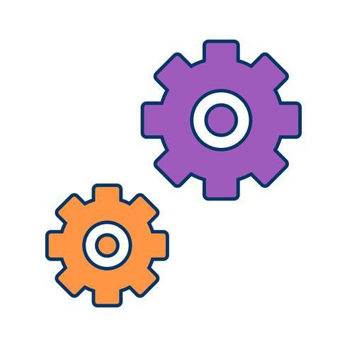 Icono de configuración de vector