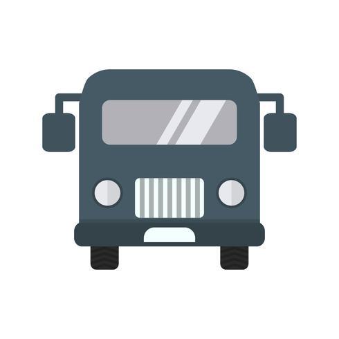 Vector luchthaven bus pictogram