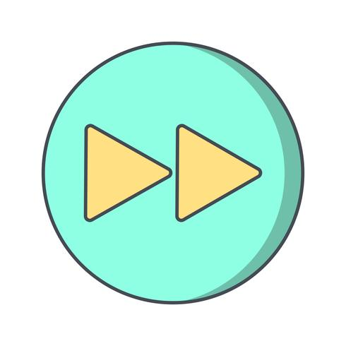 Forward Icon Vector Illustration
