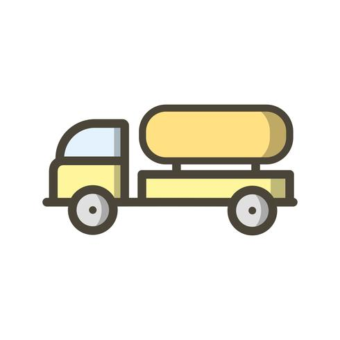 Vector Tank Truck Icon
