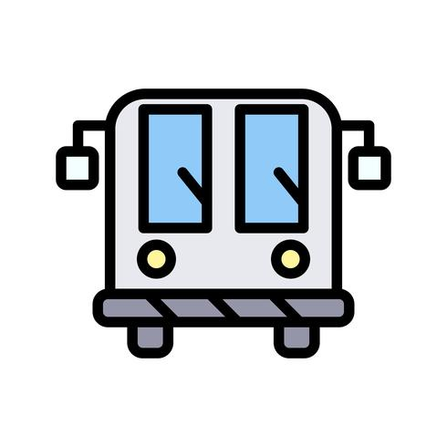 Vector Airport Bus Icon