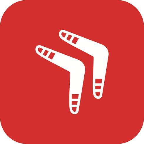 Boomerang Icon Vector Illustration