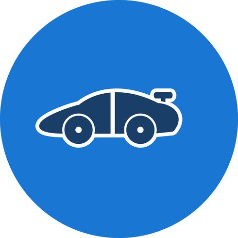 Vector sportwagen pictogram