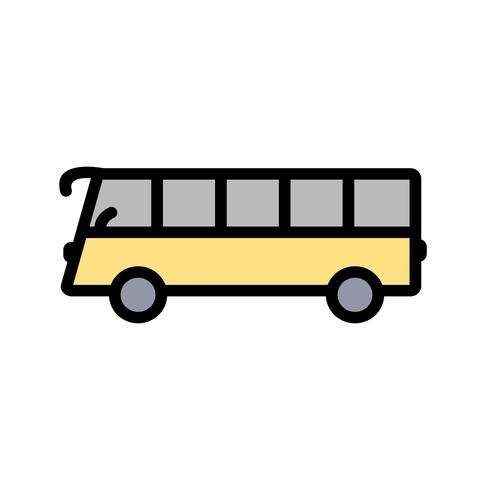 Vector buspictogram