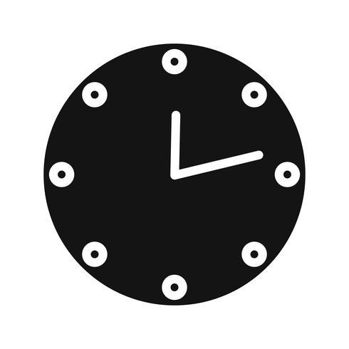 Vector klokpictogram