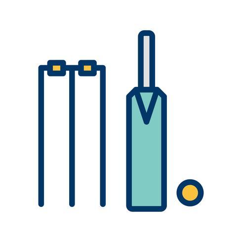 Illustration vectorielle de cricket