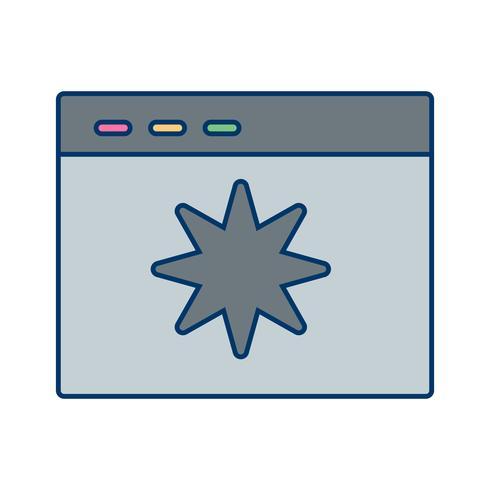 Vektor-Seitenqualitätssymbol