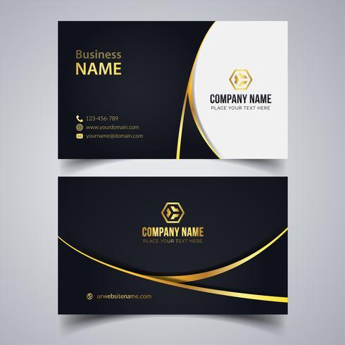 Elegant företagskort