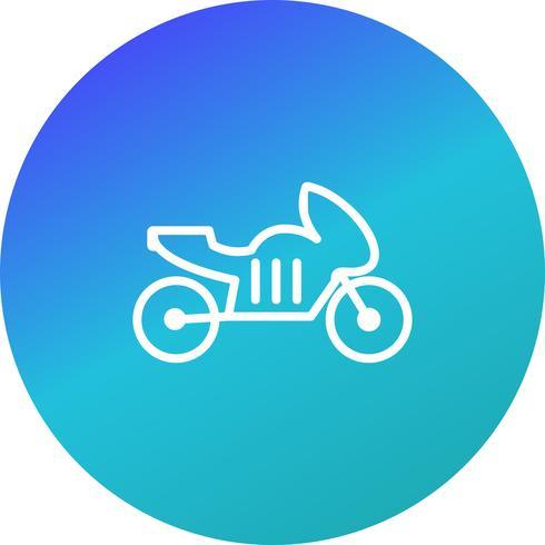Ícone de bicicleta de vetor